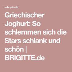 Griechischer Joghurt: So schlemmen sich die Stars schlank und schön | BRIGITTE.de