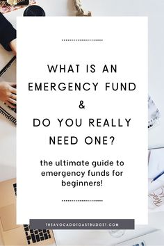 Now more than ever it's important to have an emergency fund in case of unexpected life changes or expenses. Here you'll learn all you need to know about building an emergency fund and why an emergency fund is important in the first place. Here are tips to build an emergency fund, even on a tight budget. #savemoney # emergencyfund #budgeting101 Ways To Save Money, Money Tips, Money Saving Tips, Budgeting Finances, Budgeting Tips, Financial Literacy, Financial Planning, Sinking Funds, Financial Stability