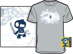 shirt.woot : Unstealthiest Ninja II: The Unstealthening (pretty sure I have a boyfriend that might need this)  ;)