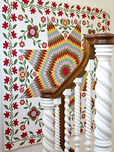 Love the staicase spindals!