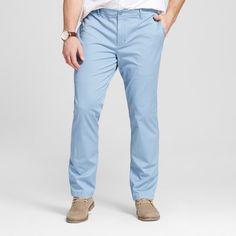 Men's Big Chino Pants Light Blue 46x34 - Merona