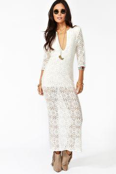 Birkin Lace Maxi Dress http://www.nastygal.com/whats-new_clothes_dresses/birkin-lace-maxi-dress