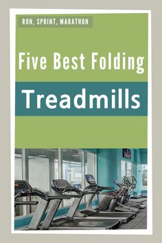 Are you looking for the best treadmill for home? We show you the best folding treadmills.