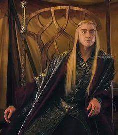 Lee Pace as Thranduil in The Hobbit movies Lee Pace Thranduil, Legolas And Thranduil, Tauriel, Gandalf, Hobbit 3, Hobbit Funny, Elf King, Jackson, Desolation Of Smaug