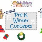 HELLO!  THIS IS A LITTLE HOLIDAY GIFT FOR OUR TPT FRIENDS.  IT COVERS PRE-K CONCEPTS IN AN EASY WAY.  I HOPE YOU ENJOY USING THIS FREEBIE WITH THE ...