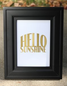 Hello Sunshine! 😉 Kelly here to share with you this piece I made with my Silhouette Curio. Embossing/debossing is one of those tasks well suited to the Curio with its special platforms and foam mat. I chose to give mine a little more pizzazz with gold vinyl inside the debossed lettering. FYI, if you're unfamiliar with the terms, embossing leaves a raised surface and debossing presses into the surface for an indentation. The Curio goes through the same motions for each, but the end re...