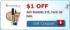 Grab Rimmel Nail Polish Only  50 CENTS at Walmart - http://yeswecoupon.com/grab-rimmel-nail-polish-only-50-cents-at-walmart/