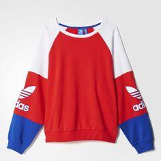 Inspiré des archives adidas, ce sweat-shirt femmes au charme vintage affiche le style sporty-chic de Los Angeles. Il est conçu en tissu éponge confortable avec un design colorblock vif et un Trèfle sur chaque manche.