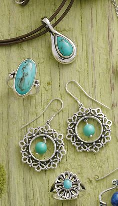 Spring Collection - Check out our Pieces Adorned with Turquoise #JamesAvery