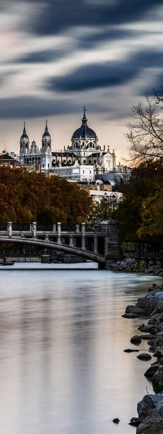 Travel Inspiration for Spain - Almudena's Cathedral, Madrid, Spain