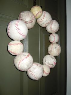 For melanie! I can't wait for our baseball window! This is so awesome. Now to find some balls.