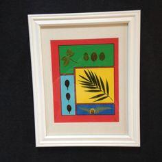 MED  Framed Pressed Botanical   with Azalea by MyStoningtonGarden, $50.00