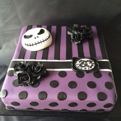 How To Make Nightmare Before Christmas Cake