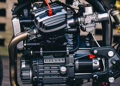 The best Honda CX500 Cafe Racer >>> BT-01 by Blacktrack Motors. Si quieres tener una moto clásica llena de estilo y disfrutar de componentes contemporáneos blacktrackmotors.com