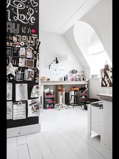 Eclectic workspace