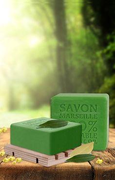 SAVON DE MARSEILLE %100 BİTKİSEL ZEYTİNYAĞLI KATI SABUN DEFNE 150 GR KUTULU