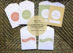 DIY Eid Card - EID money packets