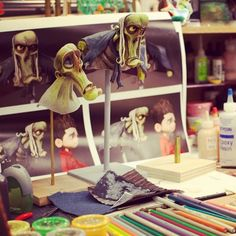 """The making of stop-motion animated film """"ParaNorman"""""""