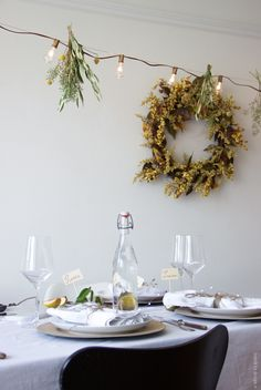 Autumnal dinner party styling #HarvestGatherings