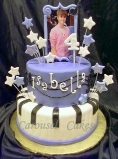 Justin Bieber cake---- AMBER THIS ONE FOR YOUR NIECE :)