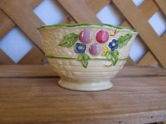 Crown Devon Small Bowl Made in England by MyVintageTable on Etsy, $8.00