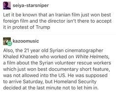Oscars 2017, Khaled Khateeb, White Helmets