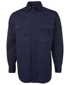 L/S Canvas Shirt 6CSL