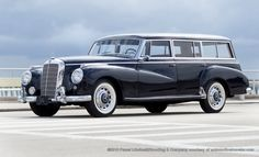 custom-built 1955 Mercedes Benz 300c station wagon
