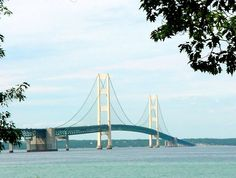 "One of my best photos of the ""Mighty Mac"" - Mackinaw Bridge - Michigan"