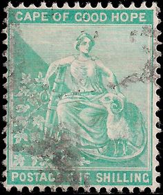 Forged Stamps of Cape of Good Hope Colonial, Cape Colony, Union Of South Africa, South Afrika, Empire, Vintage Stamps, West Africa, Mail Art, Italy