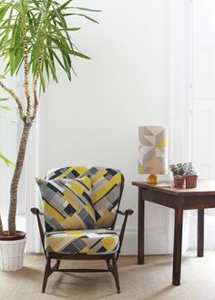 Tamasyn Gambell | Simple Geometry | Axis and Plane Curve Printed Linen | www.tamasyngambell.com