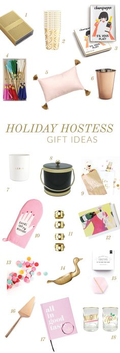 Hostess Gift Ideas on Glitter Guide - #WOMspotted #waitingonmartha