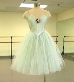 Ballet Costumes from Frills and Sprinkles: Mint Green Romantic Tutu