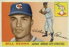 1955 Topps #121 Bill Renna Front