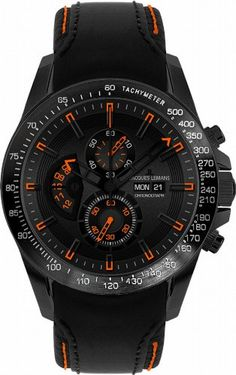 9c79bcfde Amazon.com  Jacques Lemans Men s 1-1635D Liverpool DayDate Sport Analog  with DayDate Watch  Watches
