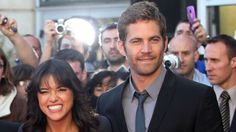 Michelle Rodriguez says went a little rogue following news of her co-star's unexpected death.
