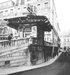 Quiosques antigos de Lisboa - SkyscraperCity Quiosque nos Restauradores, ainda nao recup.