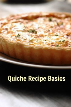 Quiche Recipe Basics | Good Cheap Eats - The basic quiche recipe is not complicated. Eggs and cream form a luscious custard inside a pie crust, customized with your favorite fillings.