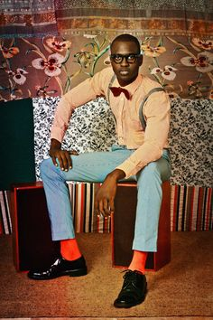 The Senegalese photographer talks to i-D about reclaiming black history, Malick Sidibé, and his love for textiles.