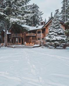 Grace Upon Grace Winter Cabin, Winter House, Cabin Homes, Log Homes, Beautiful Homes, Beautiful Places, Winter Scenery, Cabins And Cottages, Cabins In The Woods