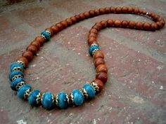 Bohemian Inspired Necklace / Boho Chic / Woman by Syrena56 on Etsy