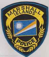Marshall Islands Police patch