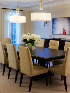 simple dining room    #KBHomes