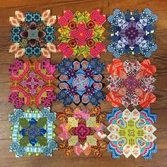 Beautiful Lucy Boston blocks