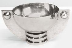 Jean Després bowl, ca 1927                                                                                                                 TWO-HANDLED PED...