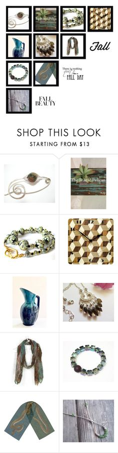 """""""Teal We Meet Again"""" by whimzingers ❤ liked on Polyvore featuring memento, Cadeau and vintage"""