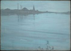 Whistler, Nocturne in Blue and Silver.