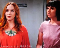 Mariah and Tessa go to the police station in order to give Paul some important information about Crystal.