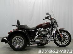 2008 Harley-Davidson SPORTSTER XL1200L VOYAGER TRIKE | Warrenville, Illinois | Used Motorcycles and Parts