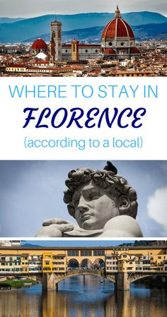 Where to Stay in Florence. Best areas to stay in Florence, written by a local. Florence travel guide with recommendations from a Florentine! via @WanderTooth